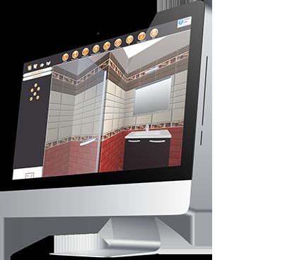 Logiciel d aide la vente de salle de bains carrelages for Logiciel carrelage salle de bain 3d gratuit